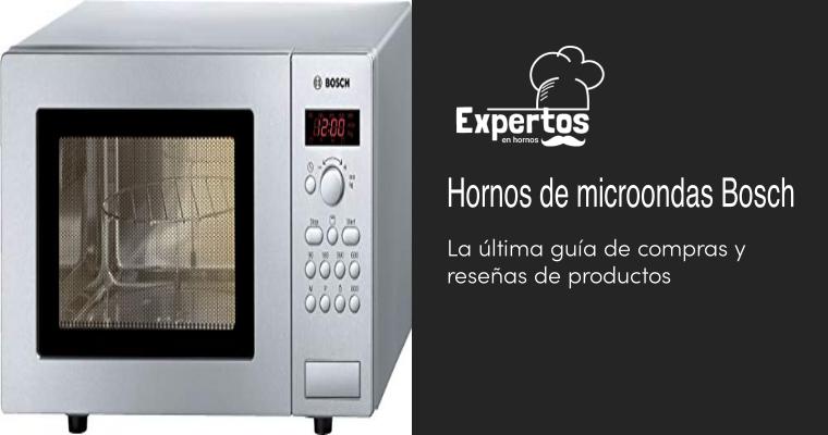 Los mejores Hornos de microondas Bosch
