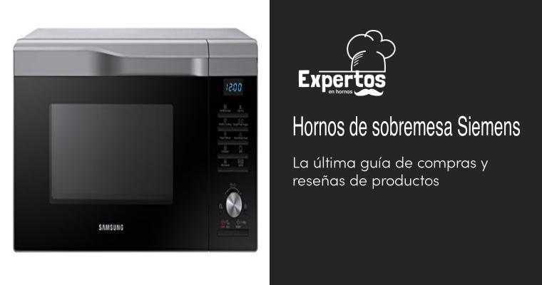 Los mejores Hornos de sobremesa Siemens